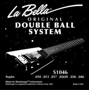 La Bella S1046 Double ball струни за ел.китара -010-046