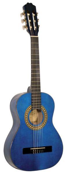Kirkland класическа китара мод 34 размер 3/4 синя