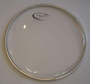 "SCOTT 8"" прозрачна кожа за рототоми"