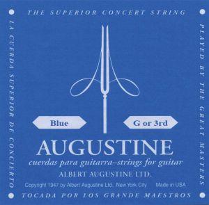 AUGUSTINE CLASSIC-BLUE G 3-та- Струнa за класическа китара