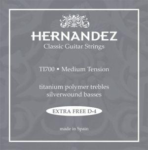 Hernandez Titanium Classic Set T1700 Medium tension