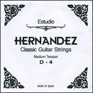 Hernandez струнa за класическа китара D-4 Medium Tension