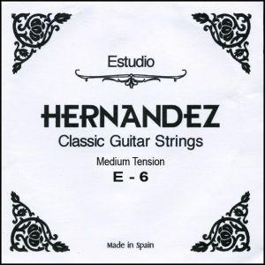 Hernandez струнa за класическа китара E-6 Medium Tension