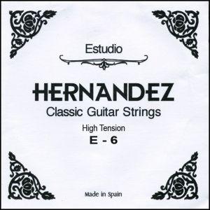 Hernandez струнa за класическа китара E-6 High Tension