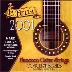 """La Bella 2001 """"Flamenca negra"""" - специален черен найлон"""