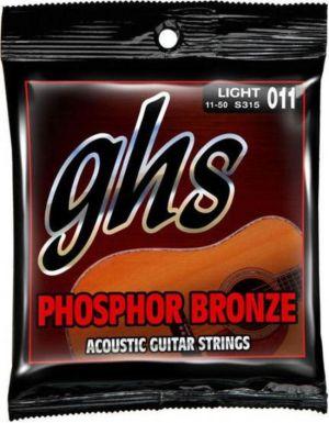 GHS S315 Phosphor Bronze acoustic guitar strings  011-050