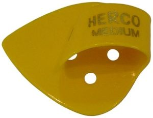 Herco® Flat/Thumbpicks - yellow medium