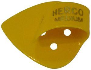 Herco® Flat/Thumbpicks - yellow medium