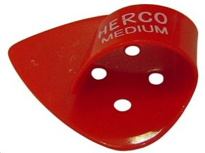 Herco® Flat/Thumbpicks - red medium