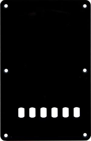Catfish-плочка за китара-черна