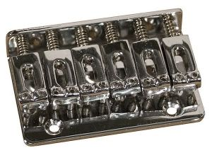 Catfish Non Tremolo Bridge, chrom