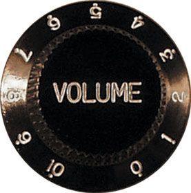 Catfish капачка за потенциометър Volume - черна 685156