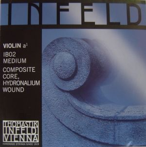 Thomastik Infeld blue composite core - единична струна А - composite core, hidronalium wound