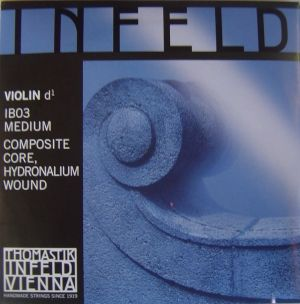 Thomastik Infeld blue composite core - единична струна D - composite core, hidronalium wound