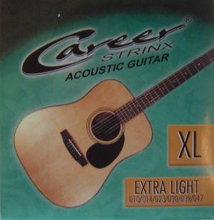 Career струни за акустична китара 010-047