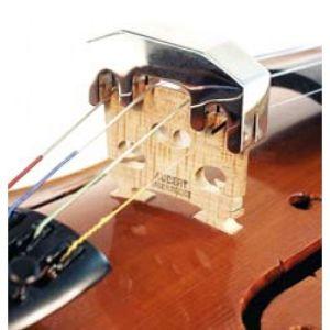 """Сурдина за цигулка метална """"хотелска"""""""