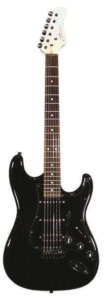 Career Stage-2 Електрическа китара HSS - черна