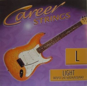 Career strings for electric guitar Light 009-042