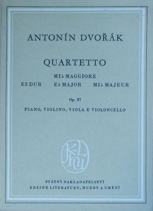 Дворжак - Квартет op.23 в ре мажор за пиано,цигулка,виола и чело