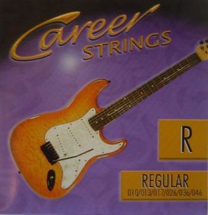 Career 010-046 strings for electric guitar Regular