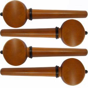 ключове за виола модел Swiss с черно топче и гривна - чимшир -  комплект