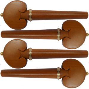 ключове за чело модел Heart със златно топче и гривна - чимшир -  комплект