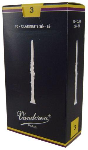 Vandoren платъци за В кларинет размер 3 - кутия