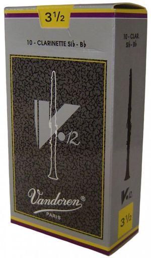 Vandoren V12 Bb платъци за кларинет размер 3 1/2 - кутия
