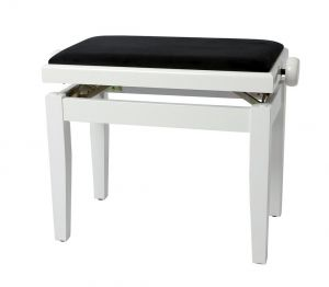 GEWApure столче за пиано FX бял гланц 130030