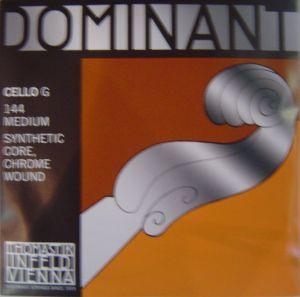 Thomastik Dominant Synthetic core Chrome wound  единична струна за чело - G