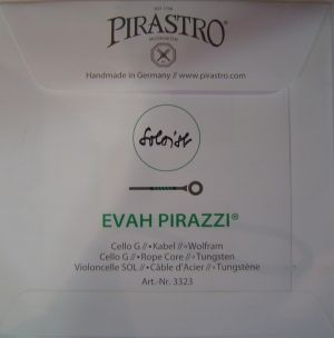 Pirastro Evah Pirazzi soloist Rope core Tungsten single string for Cello - G