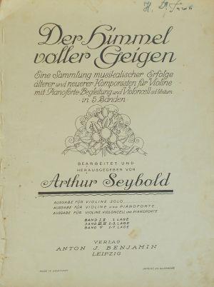Sinding Sonate op.27
