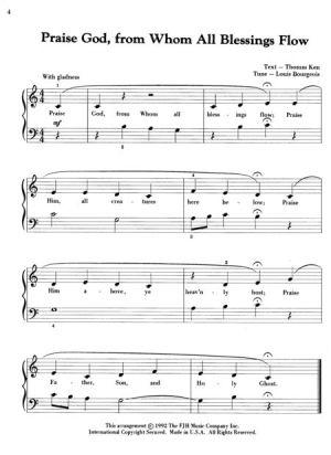Религиозни песни за пиано   Level 4 религиозни песни